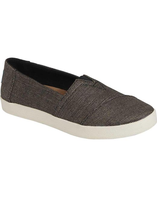 TOMS - Black Avalon Slip On - Lyst