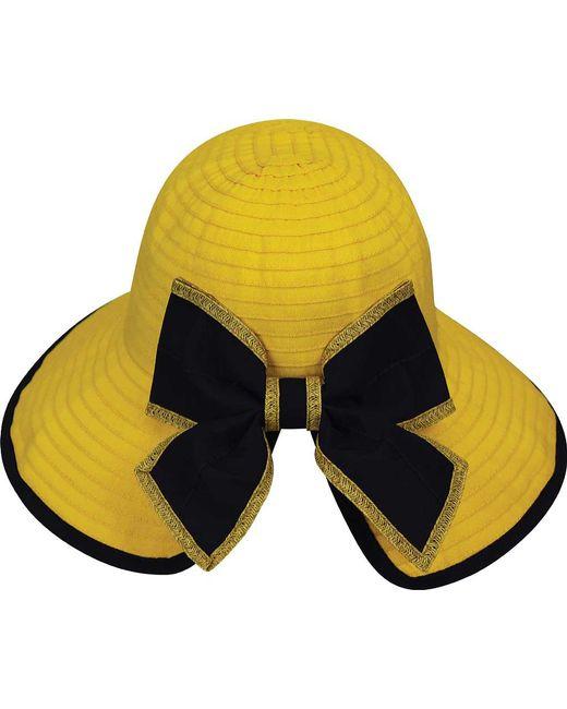 1901923870d ... Betmar - Yellow Malta Bucket Hat - Lyst