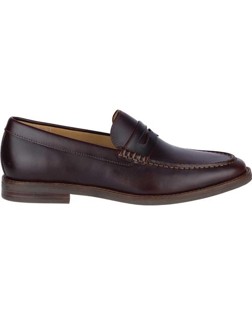 c27cbacf6bb ... Sperry Top-Sider - Multicolor Gold Exeter Penny Loafer for Men - Lyst  ...