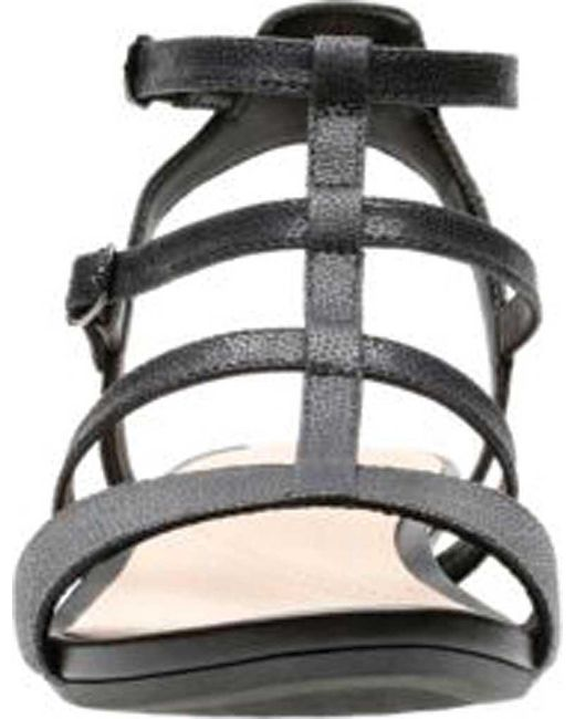 ac01c9de7ec8 Lyst - Clarks Parram Spice Wedge Gladiator Sandal in Black - Save 45%