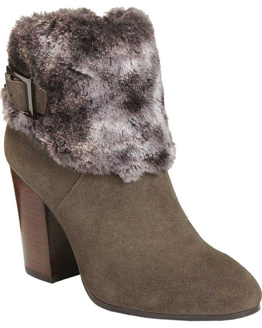 Aerosoles - Brown North Square Ankle Boot - Lyst