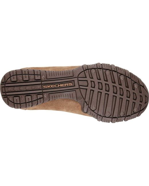 timeless design new photos shop best sellers Lyst - Skechers Relaxed Fit Bikers Curbed Oxford for Men