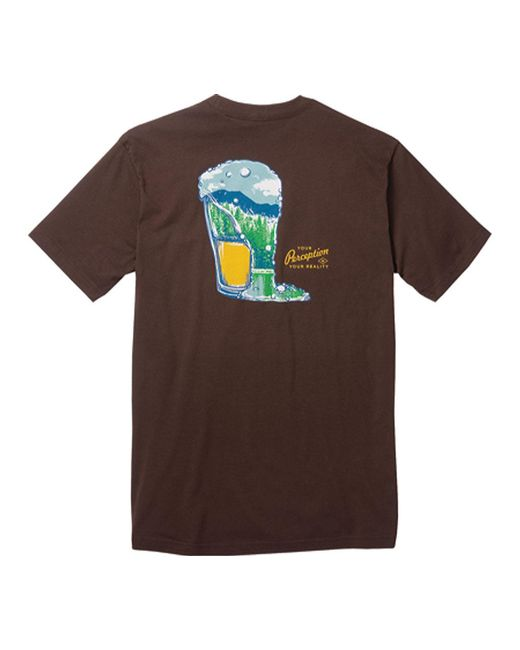 Toad&Co - Brown Pint Half Full Graphic Tee for Men - Lyst