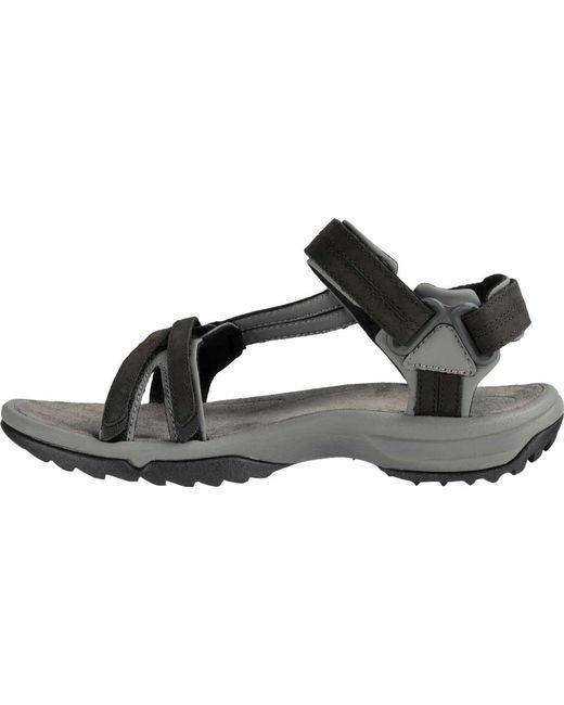 6882dd8f5bda ... Teva - Black Terra Fi Lite Leather Active Sandal - Lyst ...