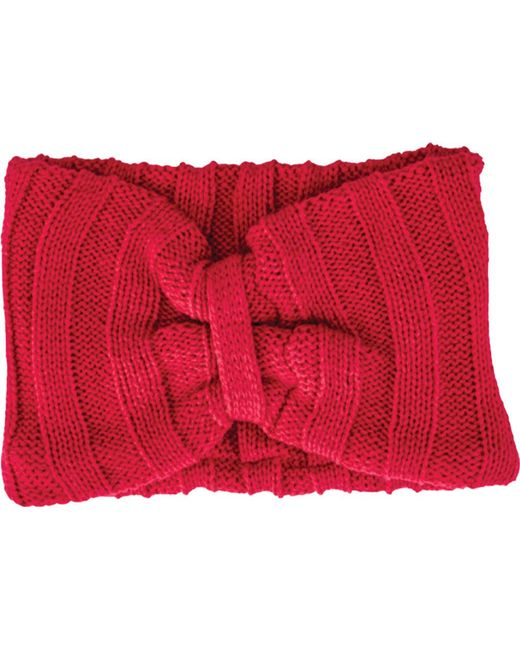San Diego Hat Company - Red Knit Headband Knh3445 - Lyst
