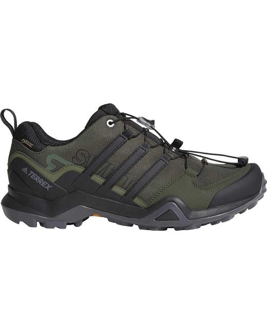 Lyst - adidas Terrex Swift R2 Gtx Shoe in Black for Men - Save 15% c1308dc4b