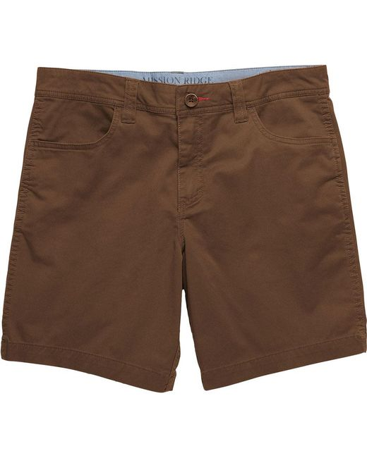 "Toad&Co - Brown Mission Ridge Short 8"" for Men - Lyst"