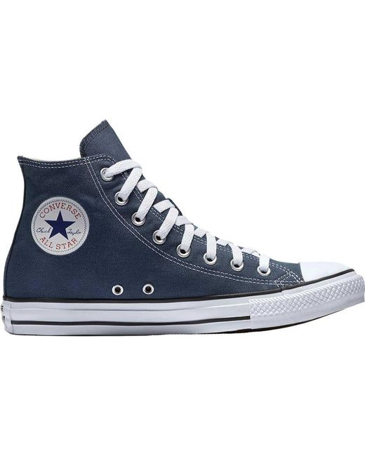 Lyst - Converse Chuck Taylor All Star High Top Sneaker in Blue ... c38ac2aff