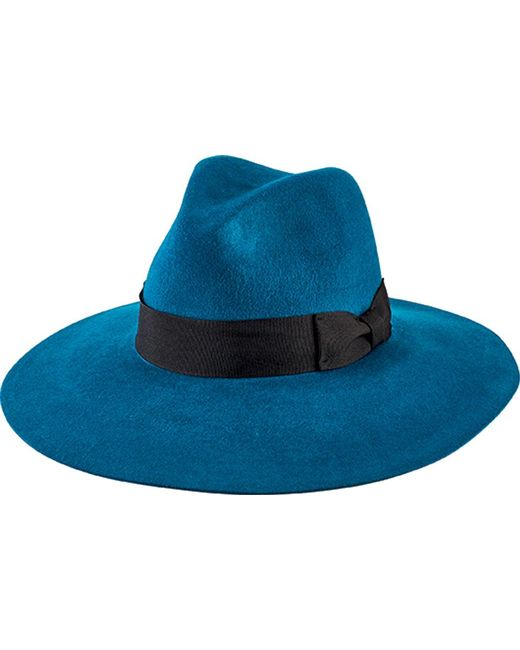 a921d0f976aae San Diego Hat Company - Green Brushed Wool Floppy Fedora With Bow Wfh8050 -  Lyst