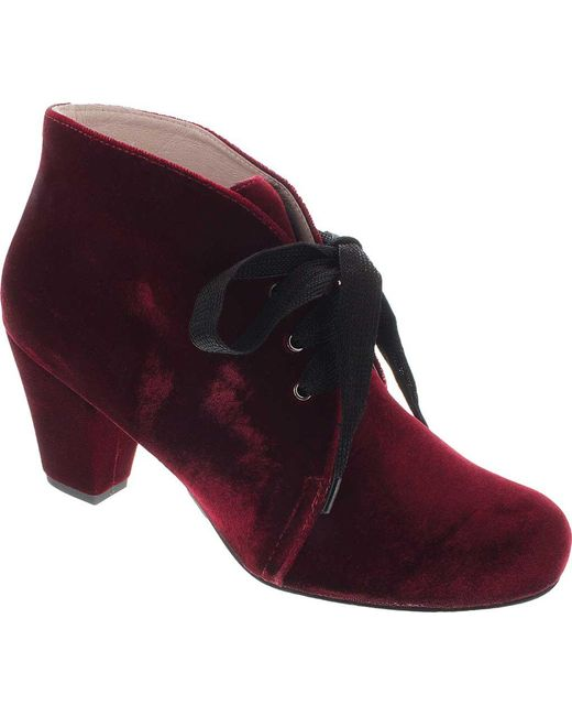 Patricia Green - Purple Clair Bootie - Lyst