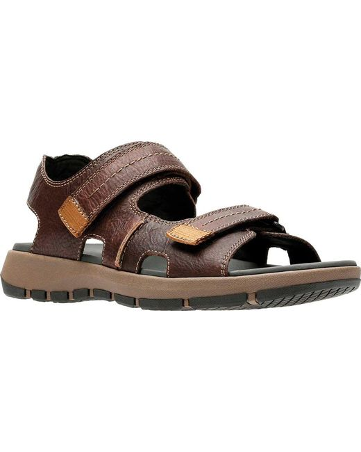 db55b38cfda Clarks - Brown Brixby Shore Active Sandal for Men - Lyst ...
