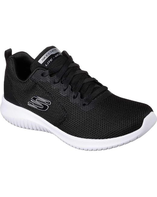 5e88e29a42e1 Lyst - Skechers Ultra Flex Free Spirits Sneaker in Black - Save 11%