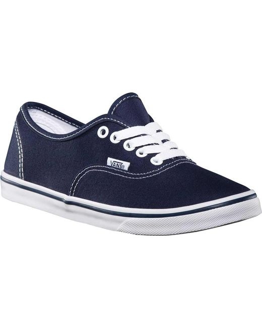 Vans - Blue Authentic Lo Pro Sneaker for Men - Lyst