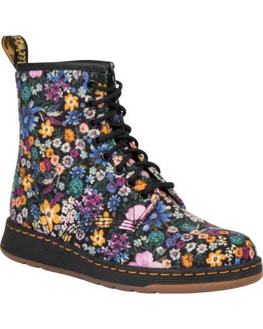 Dr. Martens - Blue Newton 8-eye Boot - Lyst