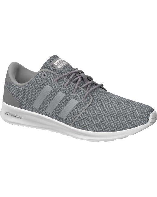 d83098efca0 Adidas - Gray Cloudfoam Qt Racer Sneaker - Lyst ...