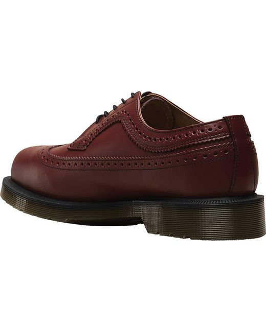 0f907d9843 ... Dr. Martens - Multicolor 3989 5 Eye Brogue Bex Sole for Men - Lyst ...
