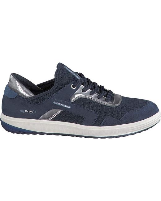 Allrounder By Mephisto - Blue Marcella Sneaker - Lyst