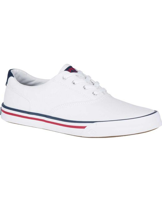 Sperry Top-Sider - White Striper Ii Cvo Washed Sneaker for Men - Lyst