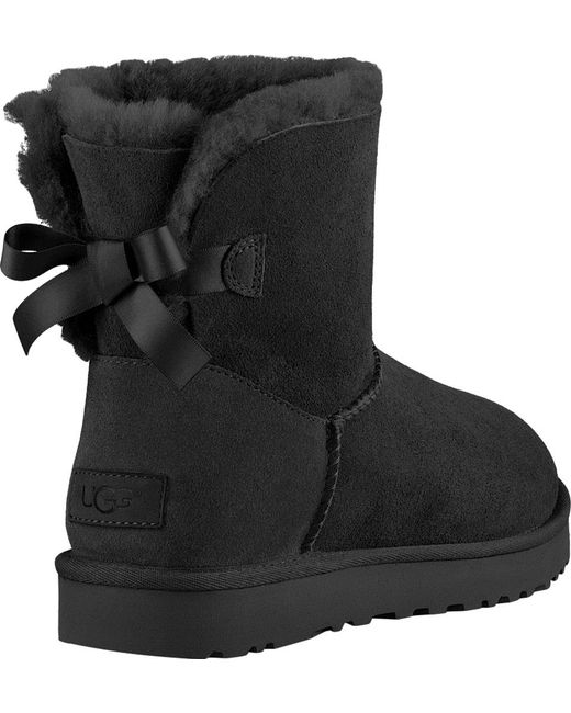 ... Ugg - Black Women's Mini Bailey Bow Ii ...