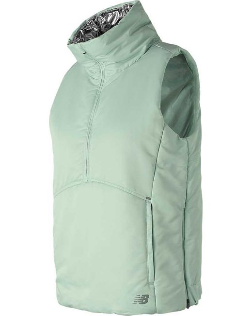 Women's Heat Green Radiant Wv83130 Half Vest Zip sQrChdt