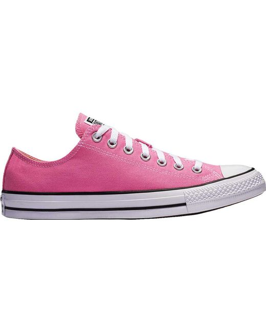 0e03a805f8c7 Converse - Pink Unisex Adult Chuck Taylor All Star Adult Seasonal Ox  Trainers - Lyst ...