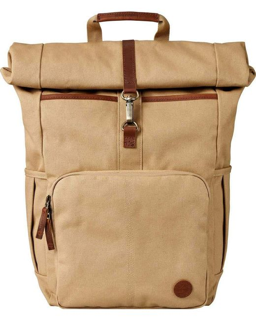 Timberland - Natural Walnut Hill Roll Top Backpack for Men - Lyst