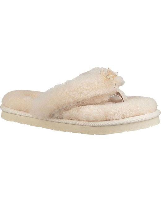843cdd048ee Women's Natural Fluff Flip Flop Iii Slipper