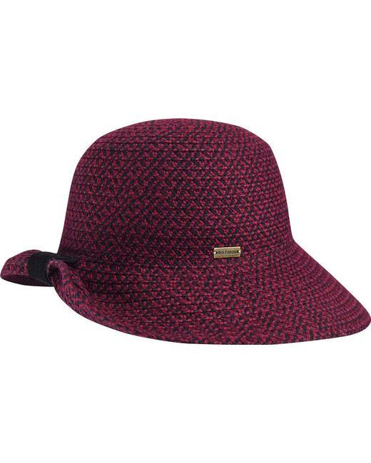 f8bdf87280518 Betmar - Purple Clancy Braided Hat - Lyst ...