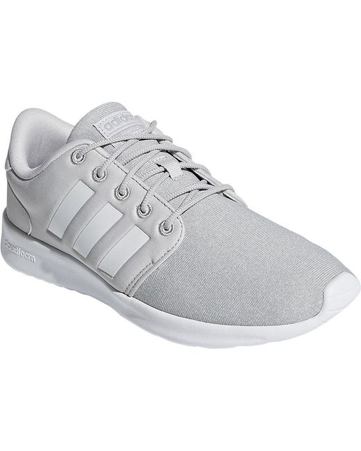 sports shoes 09085 ad25f Adidas - Gray Cloudfoam Qt Racer Sneaker - Lyst ...
