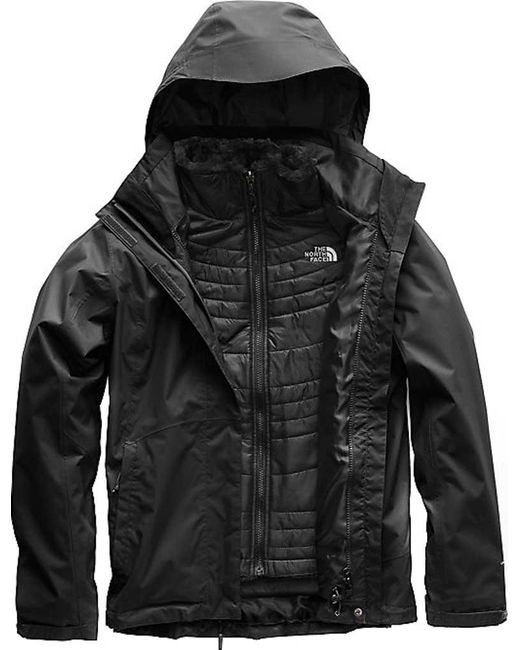 The North Face - Black Mossbud Swirl Triclimate Jacket - Lyst