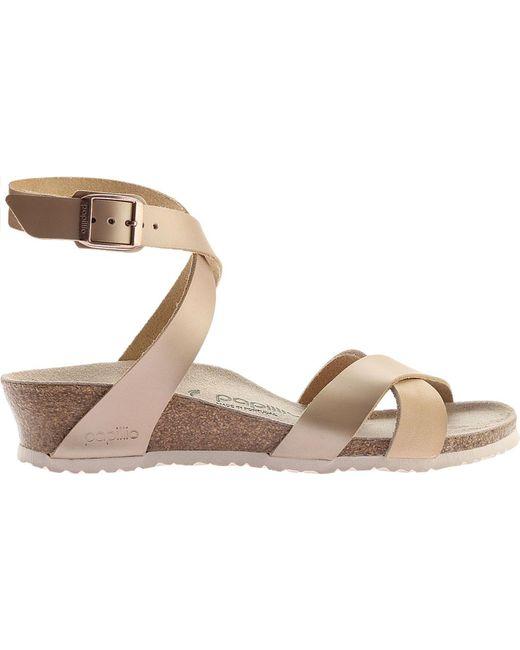b3abac3cd64 ... Birkenstock - Multicolor Papillio Lola Leather Ankle Strap Sandal -  Lyst ...