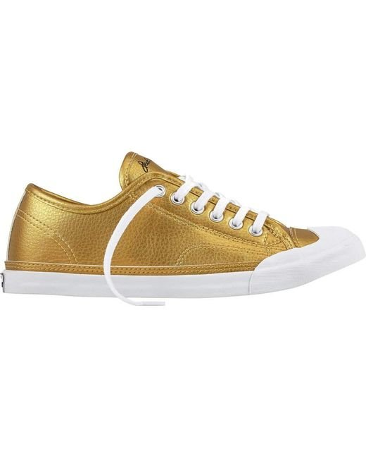 Converse Jack Purcell LP Metallic Leather Ox Sneaker NVf7OUAk
