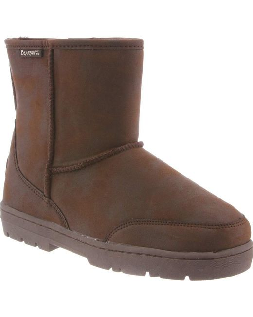 BEARPAW - Brown Patriot Solids Mid Calf Boot for Men - Lyst