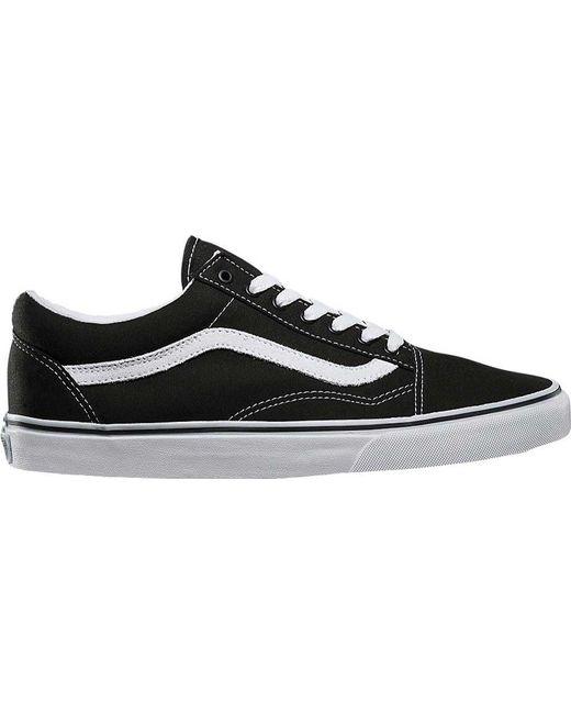 46167b2335fd82 Lyst - Vans Old Skool Shoes in Black for Men - Save 61.53846153846154%