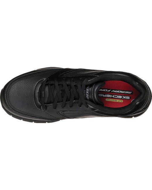 295f7531498 ... Skechers - Black Work Relaxed Fit Nampa Slip Resistant Sneaker for Men  - Lyst ...