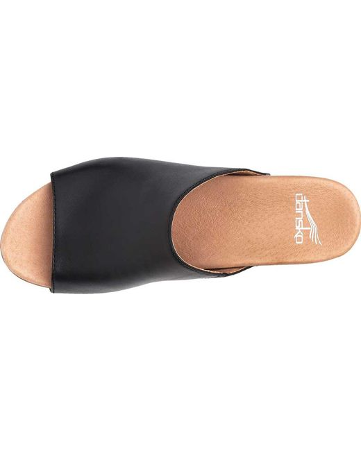 3acbc9ed29da Lyst - Dansko Maci Slides in Black - Save 24%