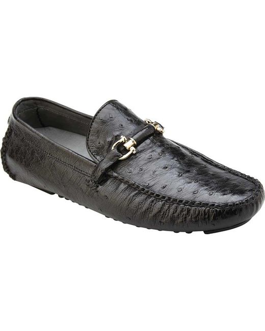 Belvedere - Black Omar Driving Loafer for Men - Lyst