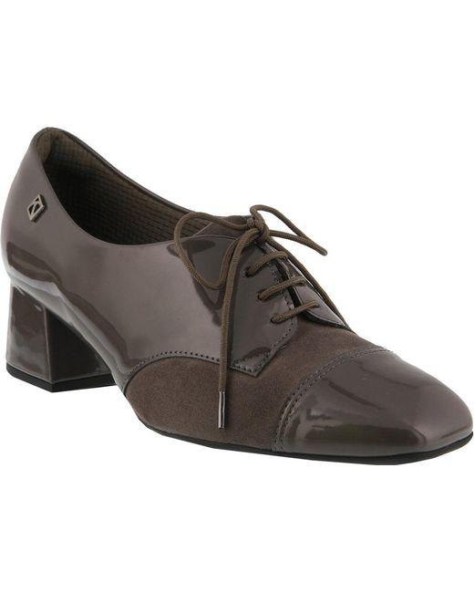 Spring Step - Gray Hortense Oxford - Lyst