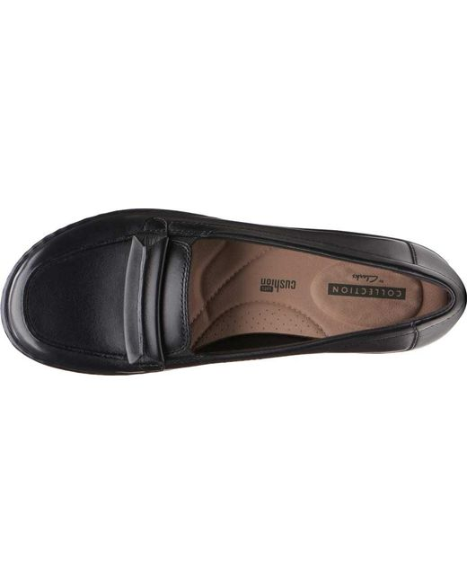 24ed7331976 Lyst - Clarks Ashland Lily Loafer in Black - Save 27%