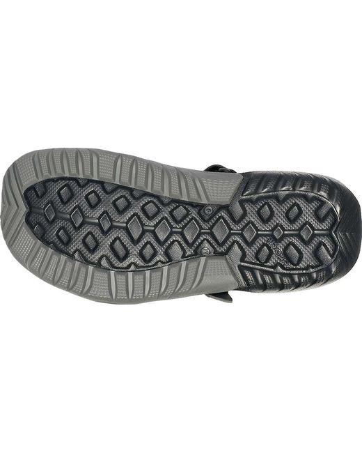 4ab334c6314b ... Crocs™ - Black Swiftwater Mesh Deck Closed Toe Sandal for Men - Lyst
