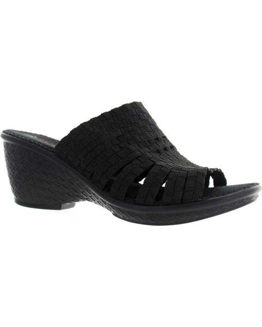 Bernie Mev - Black Kent Slide Sandal - Lyst