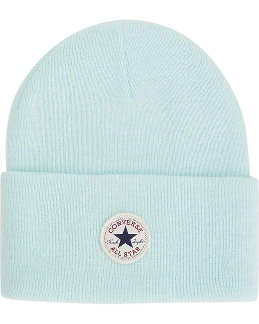 Converse - Blue Tall Cuff Core Watchcap Beanie - Lyst