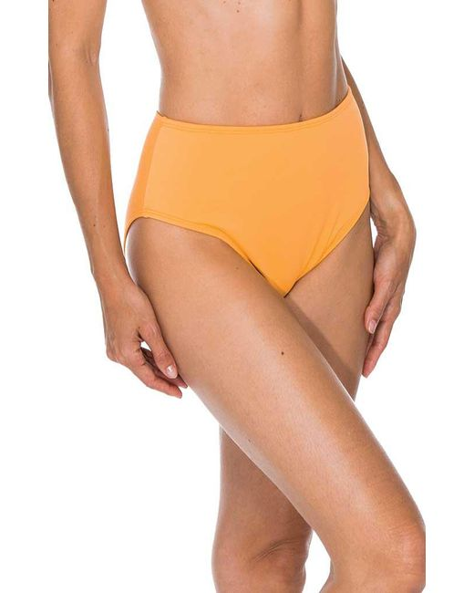 92e1df56d65e7 Sunsets - Orange The High Road Seamless High Waist - Lyst ...