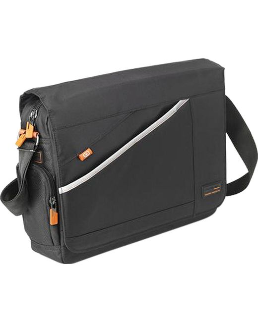"Hedgren - Black 14"" Trust Rfid Messenger Bag for Men - Lyst"