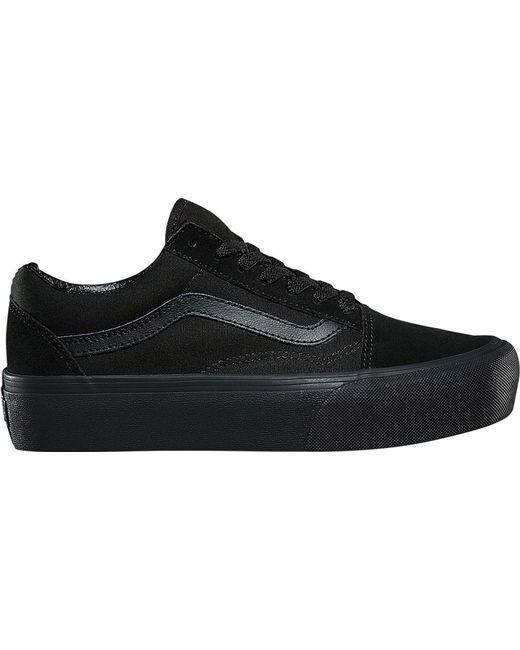 7a314b545d ... Vans - Black Old Skool Platform Sneaker for Men - Lyst ...