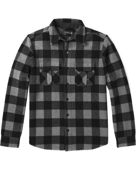 Smartwool - Gray Anchor Line Flannel Shirt Jacket for Men - Lyst