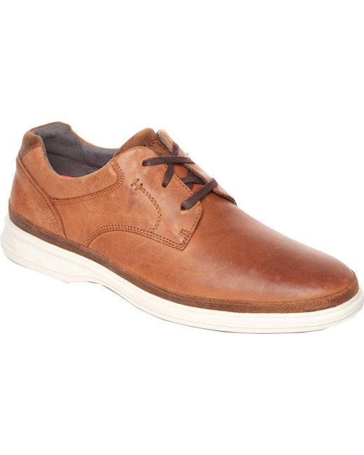 Rockport - Brown Dressports 2 Go Plain Toe for Men - Lyst