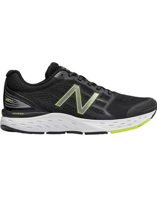 New Balance M680v5 Running Sneaker Q9xMU