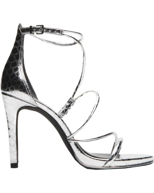 Kenneth Cole - Metallic Bryanna Strappy Sandal - Lyst