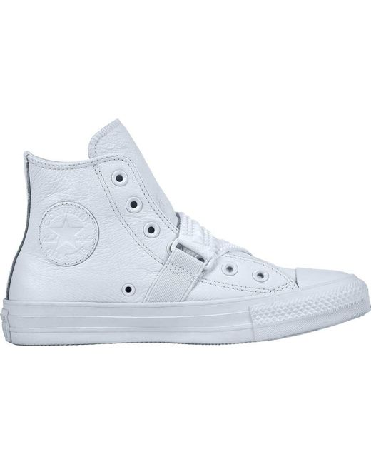 ea5ab29bdef1 Converse - Blue Chuck Taylor All Star Punk Strap High Top - Lyst ...